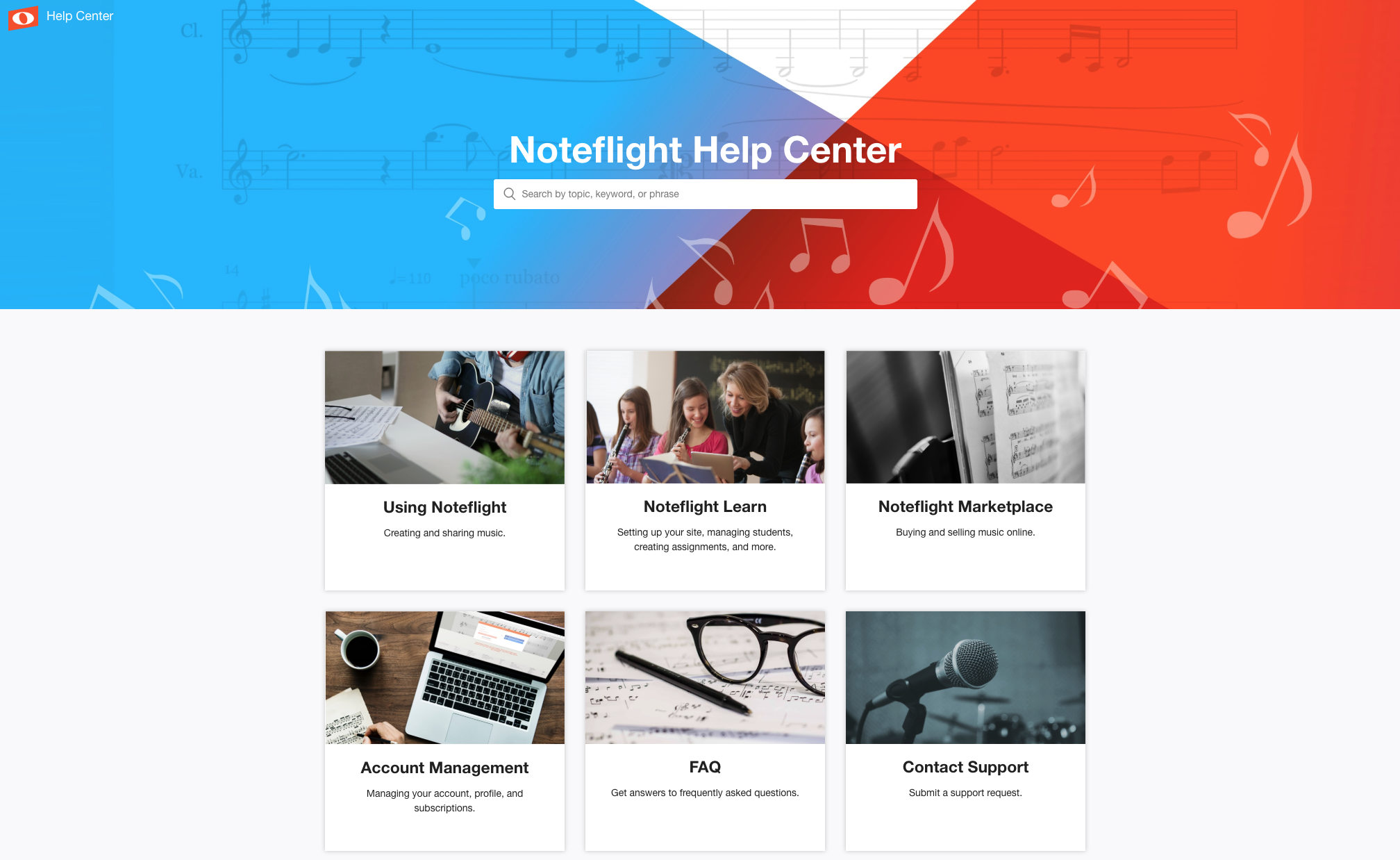 Noteflight Help Center